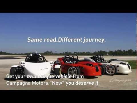 Campagna Motors   T REX 16S 3 Wheeler