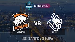Virtus.pro vs Heroic - ESL One Cologne 2017 - de_cobblestone [yXo, Enkanis]