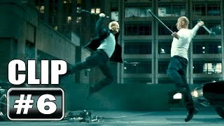 Jason Statham VS Vin Diesel Fight Scene - FAST & FURIOUS 7 Clip # 6