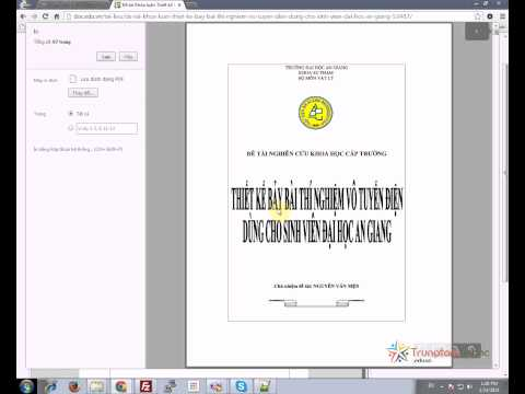 Hướng dẫn tải tài liệu miễn phí không dùng phần mềm