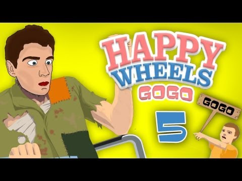 gogo - Happy wheels online hra v GoGovom podan. V tejto hre ide o to,e sa snate prejs cel mapu a zlma si o najmenej kost. Happy Wheels - http://www.totalj...