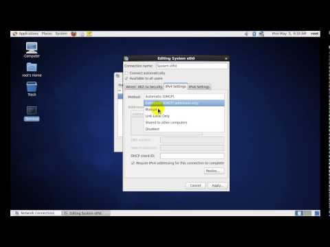2  How To Chang Ip Address, Submet Musk, Defualt Getway, DNS1, DNS2 By Interface In Linux CentOS