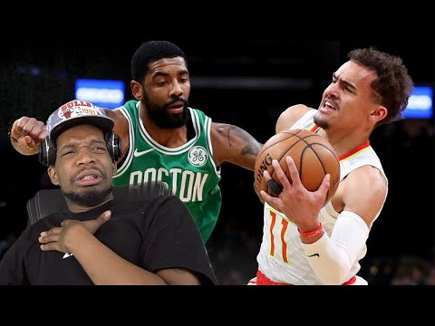 KYRIE vs TRAE YOUNG!! CELTICS LOVE CHOKING! HAWKS vs CELTICS HIGHLIGHTS