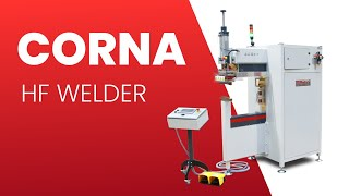 Corna - Column design High Frequency Welder for complex 3D shapes