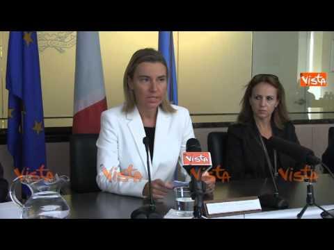 NY Mogherini Isis Italia e' stata tra i primi paesi ad impegnarsi