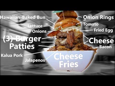 Giant Cheeseburger & Cheese Fries Challenge! - Thời lượng: 7 phút, 8 giây.