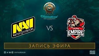 Na`Vi vs Empire, The International 2017 Qualifiers [GodHunt, V1lat]