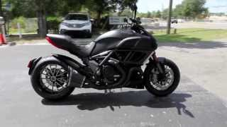 5. 2013 Ducati Diavel Dark Demo with full Termignoni Exhaust at Euro Cycles of Tampa Bay