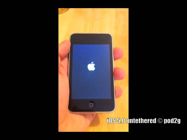 iOS 5.0 untethered jailbreak © pod2g