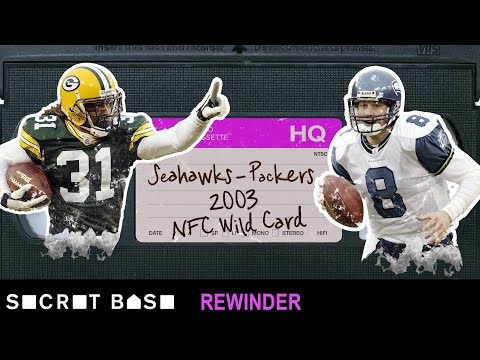 Video: Matt Hasselbeck's OT declaration in Green Bay needs a deep rewind | Seahawks - Packers 2003 Playoffs