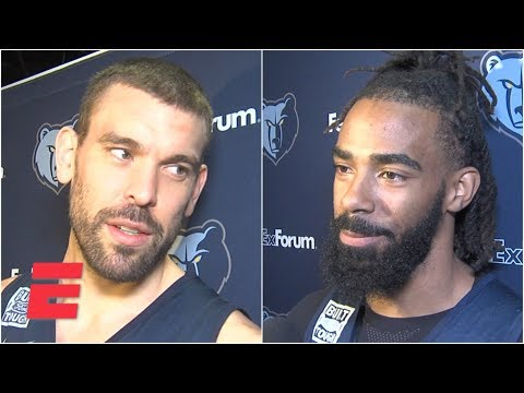 Video: Marc Gasol, Mike Conley react to Grizzlies' trade rumors | NBA on ESPN