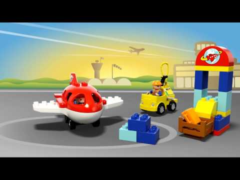 Конструктор Аэропорт - LEGO DUPLO - фото № 4