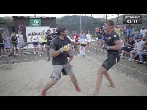 Бешенный Бой двух обычных мужиков - DomaVideo.Ru