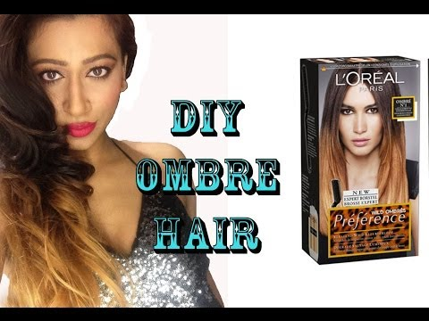 LOREAL HAIR DYE - Hey Guys, alot of people ask me where I have my hair Ombre dyed from, and are surprised when I tell them I do it myself using the L'oreal Preference Wild Omb...