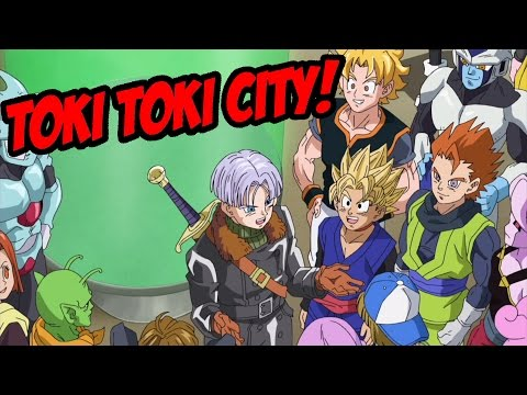 Toki Toki City Al Detalle - Dragon Ball Xenoverse