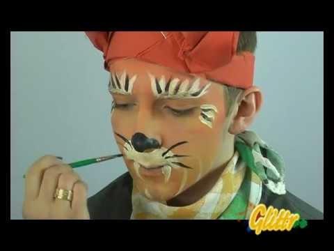 Tiger schminken - Anleitung
