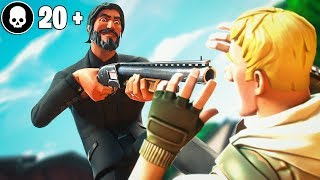 MY FIRST 20 KILL GAME OF SEASON 8! (Fortnite Battle Royale)