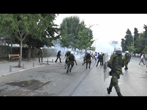 ΔΕΘ: Επεισόδια στη διάρκεια του συλλαλητηρίου για τη Μακεδονία…