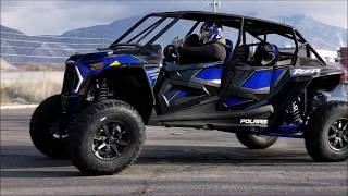 "9. 2019 RZR Turbo S 4 seat ""Beast"" drifting and tipping...."