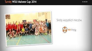 Skróty meczów z turnieju WSIU Malwee Cup 2014