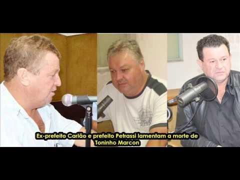ARIRANHA DO IVAÍ   O Adeus a Toninho Marcon   29 04 2014