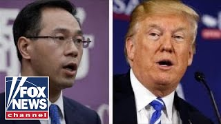 Trump doubles down on China tariff threat