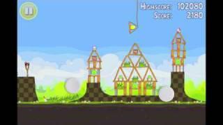 Angry Birds Seasons Golden Egg 18 Walkthrough Easter Eggs