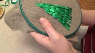 Вышивка лентами 1001flor