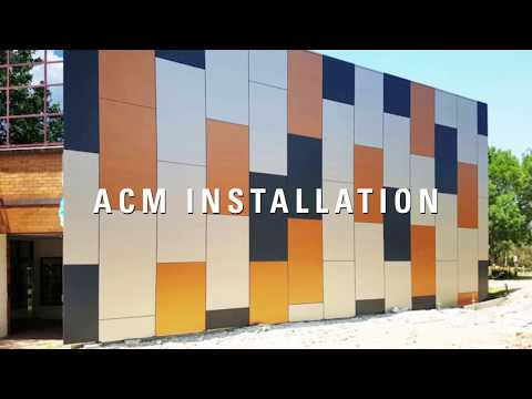 Ensuring the safe use of ACM cladding panels