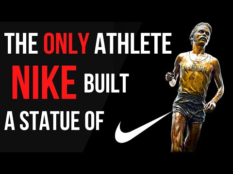 The ONLY athlete NIKE have built a statue of - Steve Prefontaine