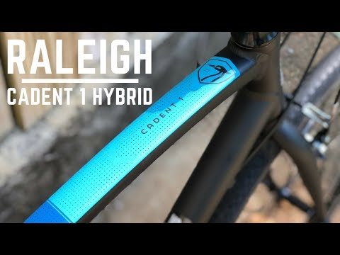 Raleigh Cadent 1 Hybrid Fitness Bicycle