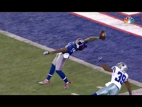 Top 10 Odell Beckham Jr Catches | NFL (видео)