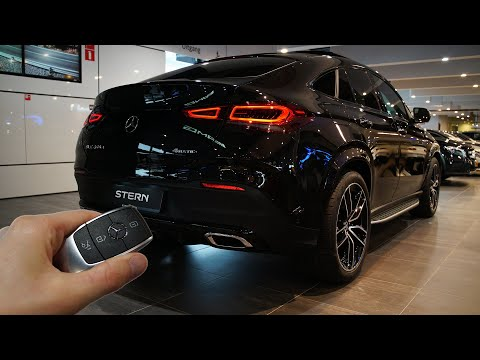 2020 Mercedes GLE Coupe 400d (330hp) - Sound & Visual Review!