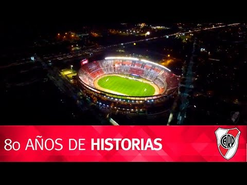 80 años del Monumental