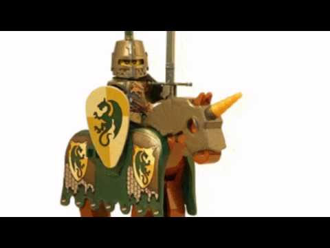 Video YouTube video ad of the Dragon Knight With Armored Horse