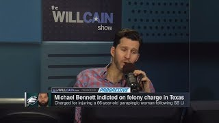 Will Cain on Michael Bennett felony charge: 'You don't rush to conviction' | Will Cain Show | ESPN