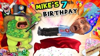 Download Video Mike's 7th Birthday! A Magically Monsterific Party Celebration! (FUNnel Vision B-Day Vlog) MP3 3GP MP4