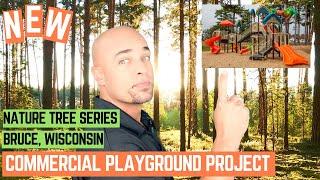 Video New Commercial Playground Installation Village of Bruce, Wisconsin MP3, 3GP, MP4, WEBM, AVI, FLV November 2018