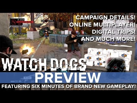 Preview - Watch Dogs - Eurogamer Preview Eurogamer's Tom Phillips got a hands on with an almost complete version of Watch Dogs, and in this preview video which feature...