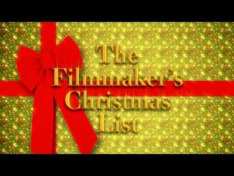 filmmaker - Ryan breaks out the top filmmaking items on his Christmas list! From pre through post production, find out what should be on your list this year. NEW SHIRTS!...