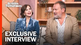 Downton Abbey's Elizabeth McGovern & Hugh Bonneville Talk Favorite Moments