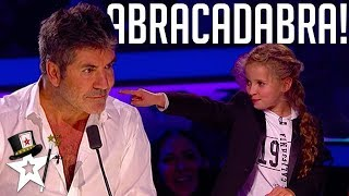 Video Real Life Hermione Granger Puts A Spell on Simon Cowell | Magicians Got Talent MP3, 3GP, MP4, WEBM, AVI, FLV Maret 2019