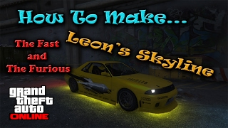 Nonton GTA 5 Online The Fast and The Furious Leon's Skyline (Elergy Retro Build) Film Subtitle Indonesia Streaming Movie Download
