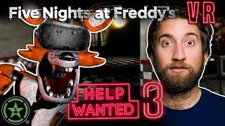Secrets Outside the Room - Five Nights at Freddy's Vr: Help Wanted (#3) by Let's Play