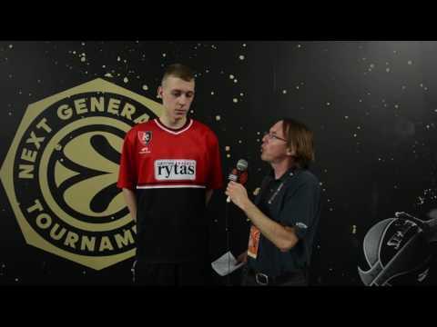 ANGT Interview: Grantas Vasiliauskas, U18 Lietuvos Rytas