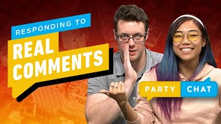IGN Responds to the Real Comments - Party Chat by IGN