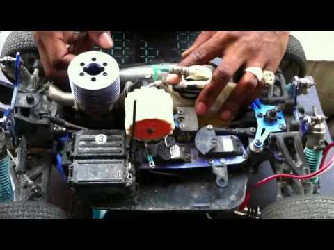 comment regler un moteur thermique rc