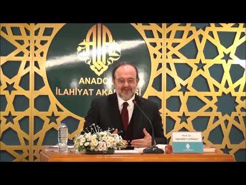 KONFERANS / Prof. Dr. Mehmet GÖRMEZ / İSLAMİ İLİMLERDE USUL GELENEĞİ - 2