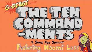 The Ten Commandments: A rockin animated music video