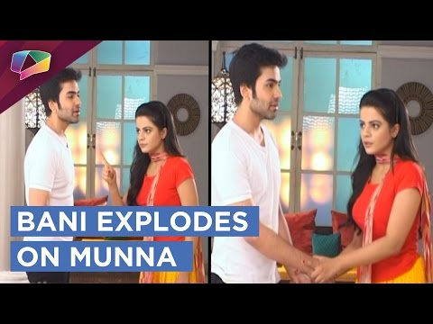 Bani Gets Irritated And HITS Munna | Thapki Pyaar